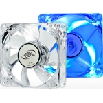 DEEP COOL XFAN 80L/B BLUE LED - SILENT